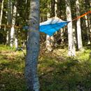 dormire tra gli alberi al rifugio rio re