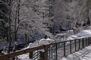 Il Rifugio Rio Re in inverno